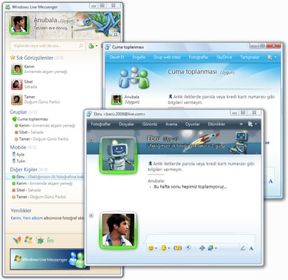messenger windows Windows Live Messenger   En Son sürüm